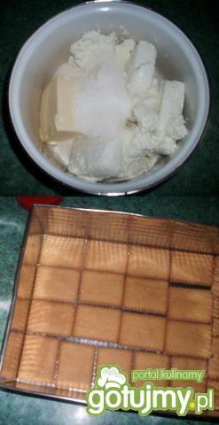 Szybki Sernik gotowany bez jaj wg Dorci