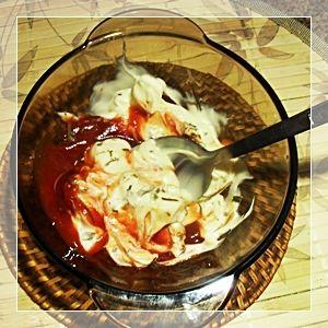Szybki sos z ketchupem