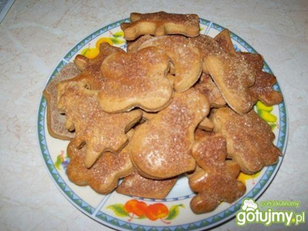 Szybkie ciasteczka miodowe