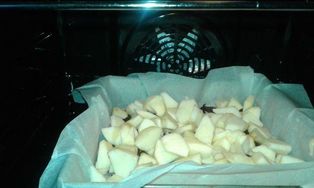 Szybkie ciasto figowo - jabłkowe