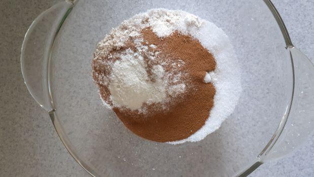 Szybkie ciasto kawowe z płatków żytnich