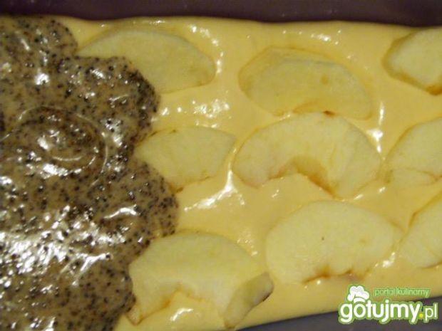 Szybkie ciasto z makiem i jabłkami