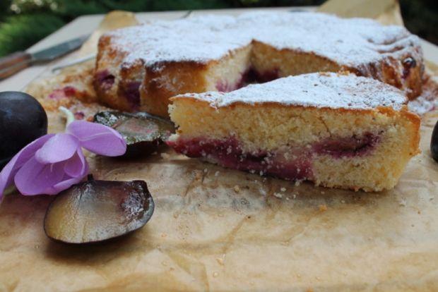 Szybkie ciasto z śliwkami