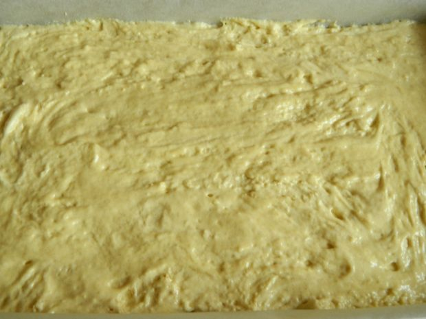 Szybkie ciasto ze śliwkami i kokosem