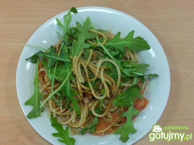 Szybkie spaghetti z tuńczykiem