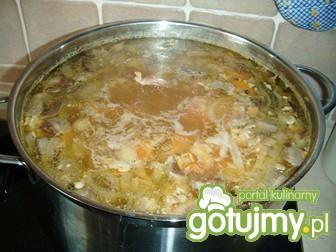 Szynka w sosie grzybowo-warzywnym