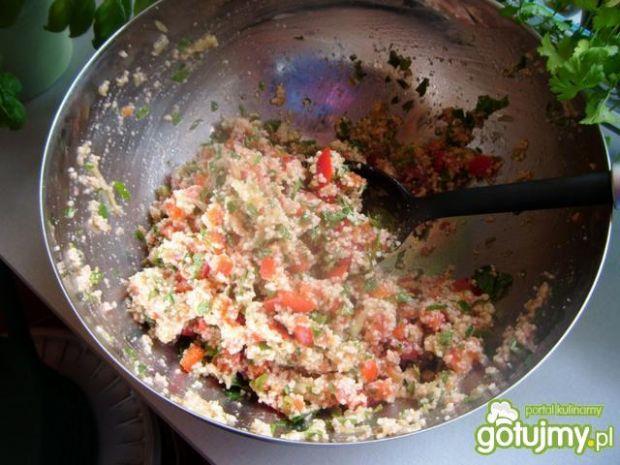 Tabule - arabska sałatka z kaszą kuskus