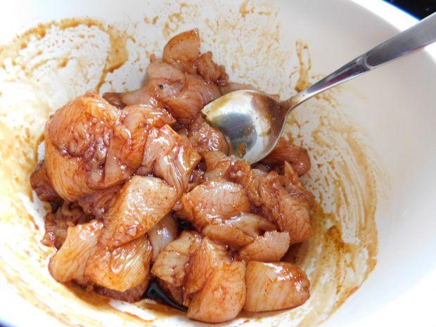 Tajski kurczak z marchewką