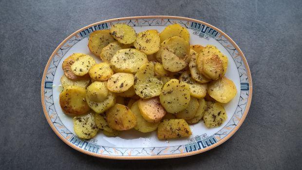 Talarki ziemniaczane podsmażane z ziołami