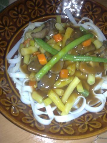 TaoTao z fasolką szparagową;)