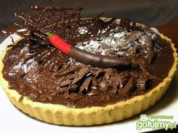 Tarta czekoladowa z chili