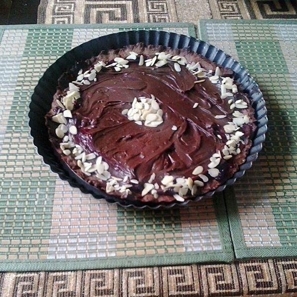 Tarta czekoladowa z ganache i dżemem