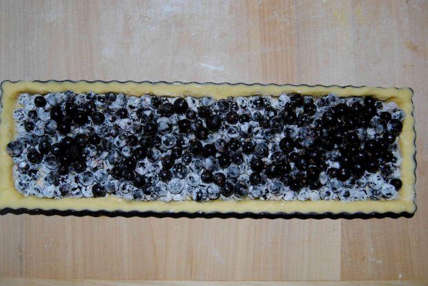 Tarta czekoladowo- porzeczkowa