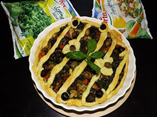 Tarta francuska z warzywami