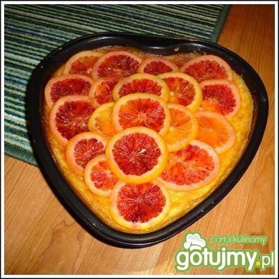 Tarta pomarańczowa - Słodkie ciasto, lekkie i delikatne ze zdrowymi pomarańczami.