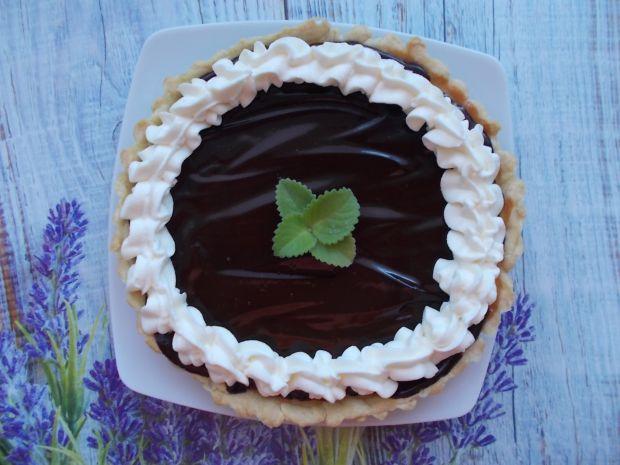 Tarta sernikowa z polewą czekoladową