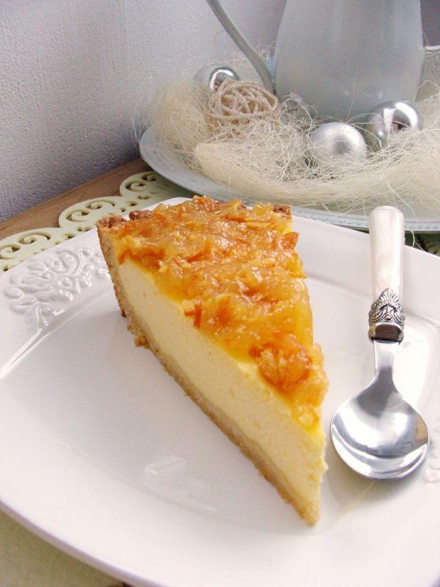 Tarta serowo pomarańczowa