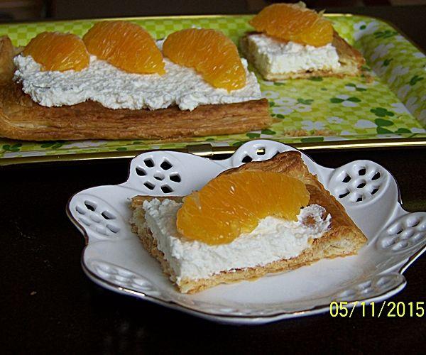 Tarta serowo- pomarańczowa