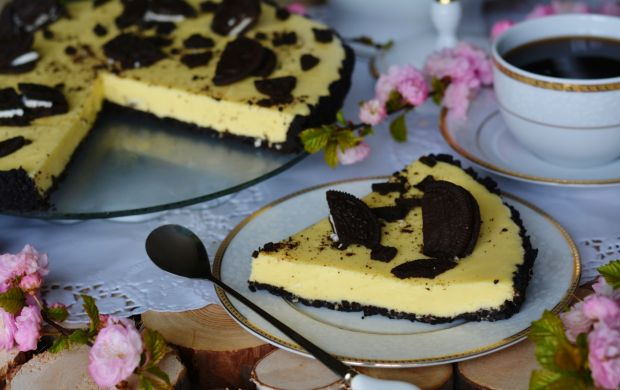 Tarta z ciasteczkami Oreo