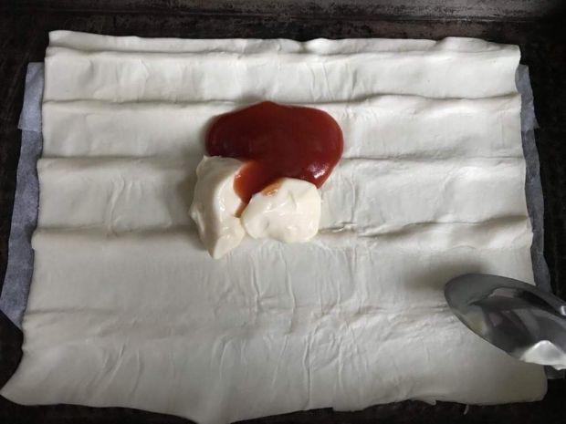 Tarta z cieciorką i szparagami