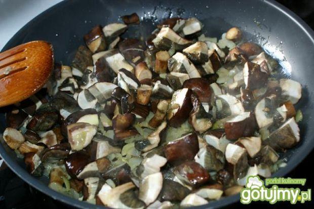 Tarta z grzybami