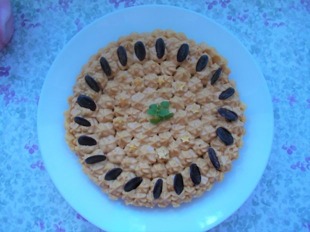 Tarta z kremem kajmakowym