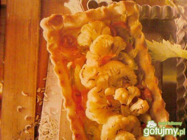 Tarta z serem i kalafiorem