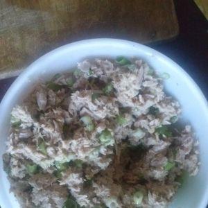 Tarta z tuńczykiem