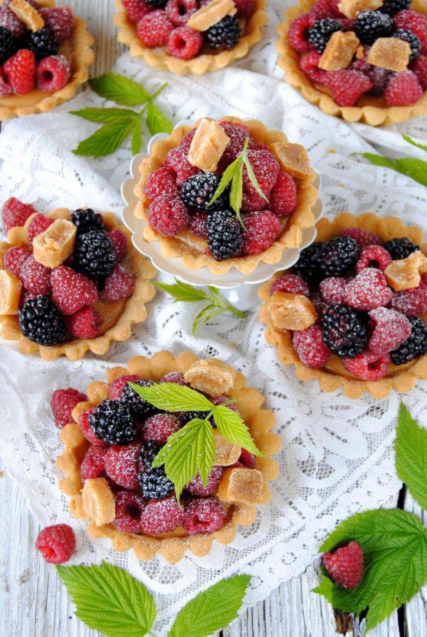 Tartaletki  krówkowo- owocowe