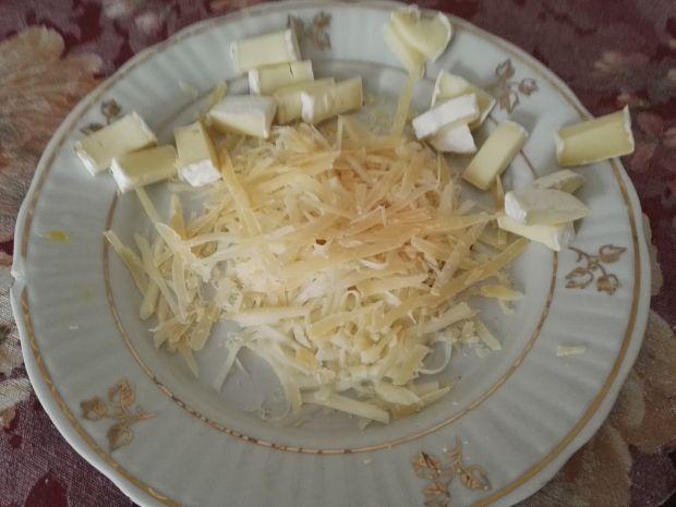 """Tartaletki """"trzy sery"""""""