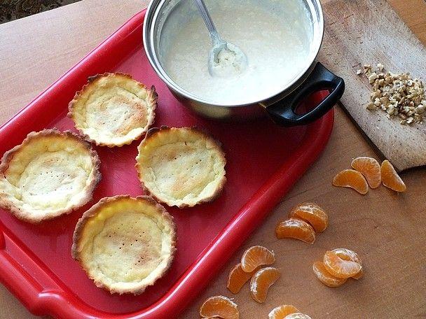 Tartaletki z nutą wanilii i pomarańczy
