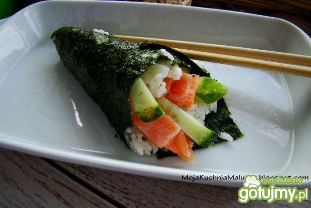 Temaki sushi  po mojemu