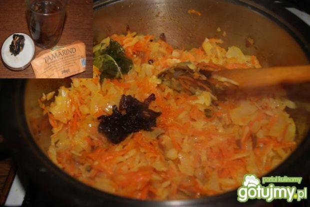 Tilapia w sosie warzywnym na ciepło