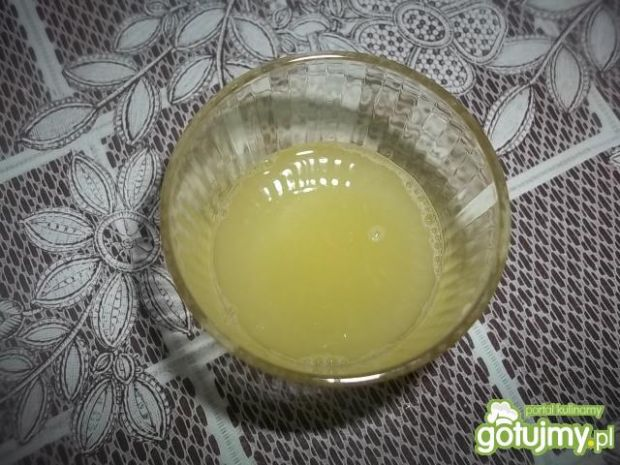 Torcik jabłkowo-cytrynowy