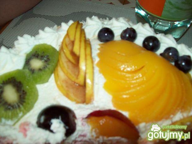 Torcik owocowy