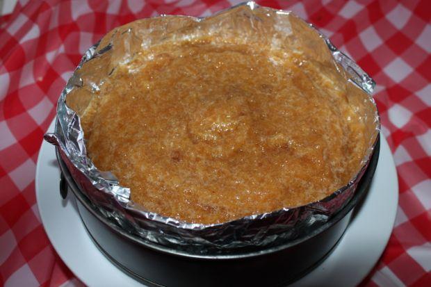 Torcik z jabłuszkiem i prażonym słonecznikiem