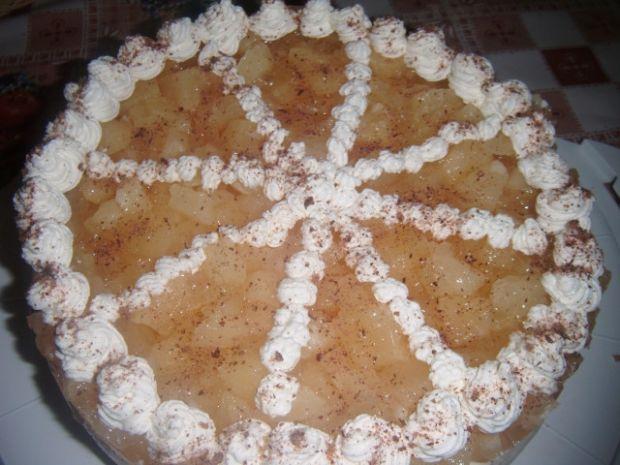 Tort ananasowy - szybki