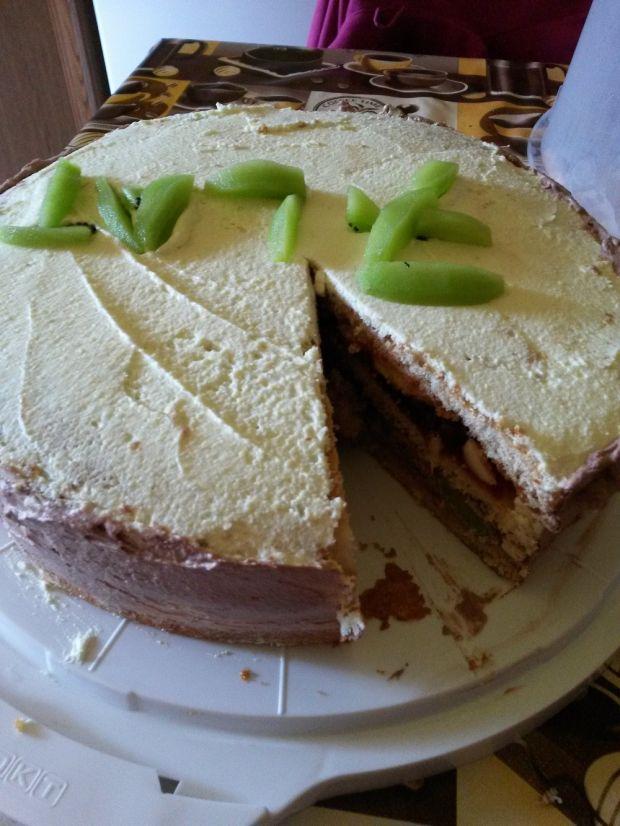 Tort cytrynowo kakaowy