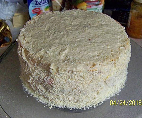 Tort cytrynowy z nutą kokosu
