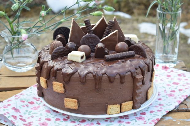 """Tort czekoladowy """"szczęście"""""""