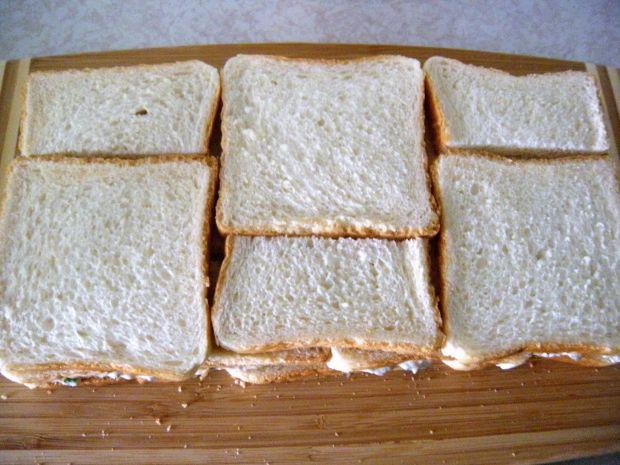 Tort kanapkowy rybny