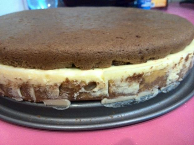 Tort kawowo - pomarańczowy