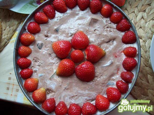 Tort kibica na zimno bez pieczenia