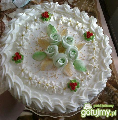 Tort kokosowy- rafaello