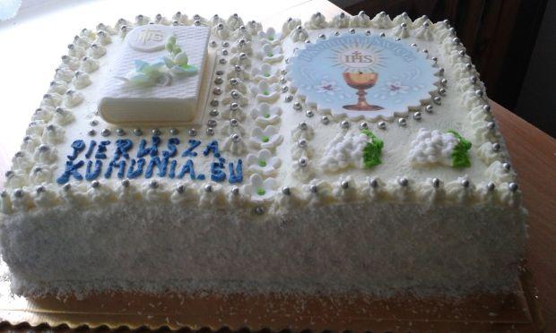 Tort  książka - komunijny