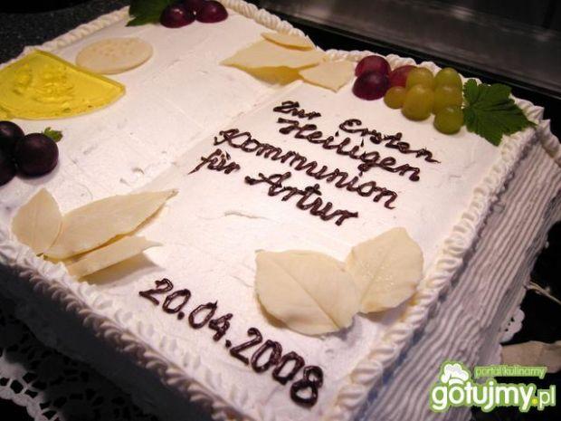 Tort Ksiazka - na Komunie