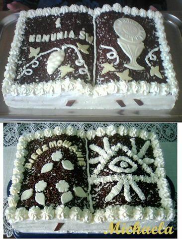Tort książka - tiramisu