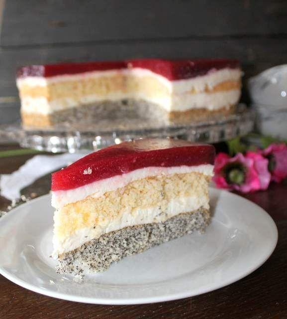 Tort malinowy 4 smaki