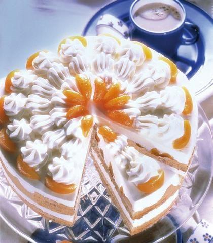Tort mandarynkowy