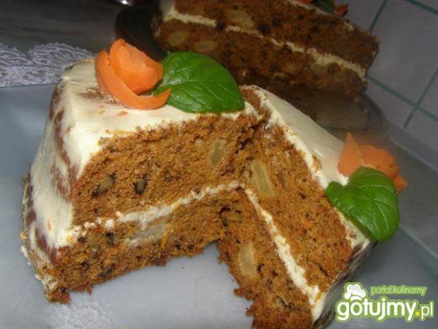 Tort marchewkowy z serkiem philadelphia